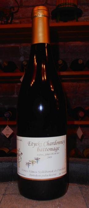 Etyeki Chardonnay Battonage